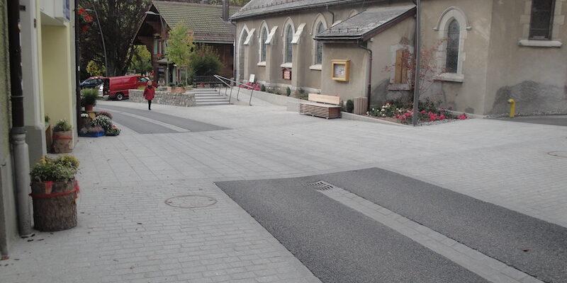 grey granite ariz pavement